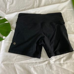 Lululemon black athletic shorts